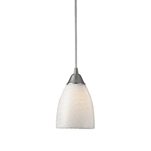 Latitude Run Burham 1-Light Cone Pendant