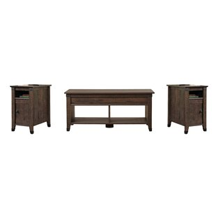 Coupon Ellicott Mills 3 Piece Coffee Table Set Andover Mills