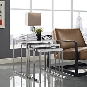 3 Piece Nesting Table by Modway