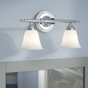 Affordable Price Biloxi 2-Light Vanity Light By Charlton Home