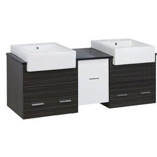 Basden 60 Double Bathroom Vanity Set