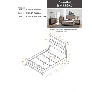 Meranda Panel Bed by Foundry Select