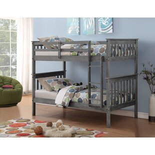 Beauford Mission Twin over Twin Bunk Bed by Harriet Bee