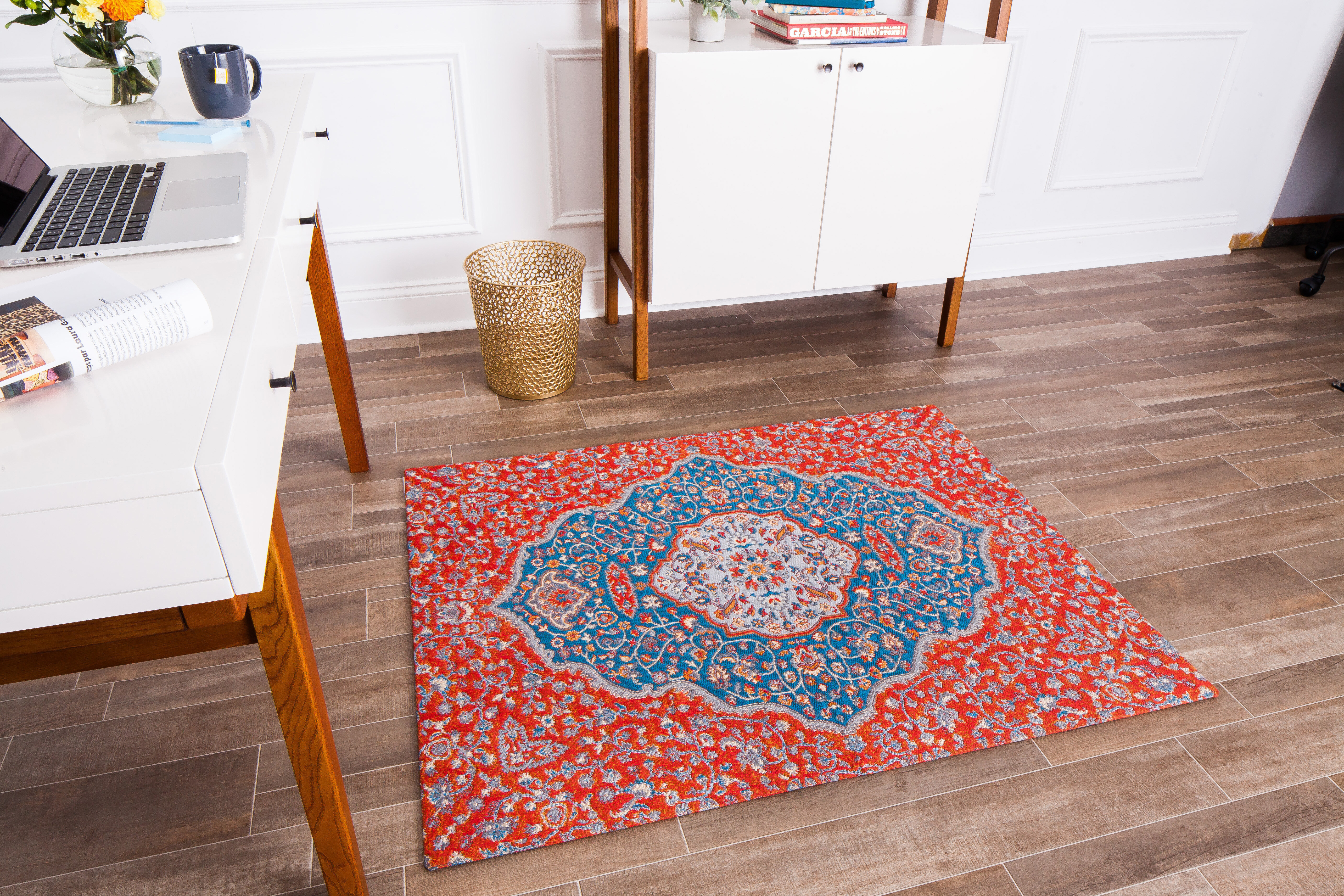 Anji Mountain Straight Rectangular Chair Mat Wayfair