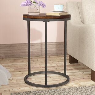 Check Prices Haddon Heights End Table ByGracie Oaks