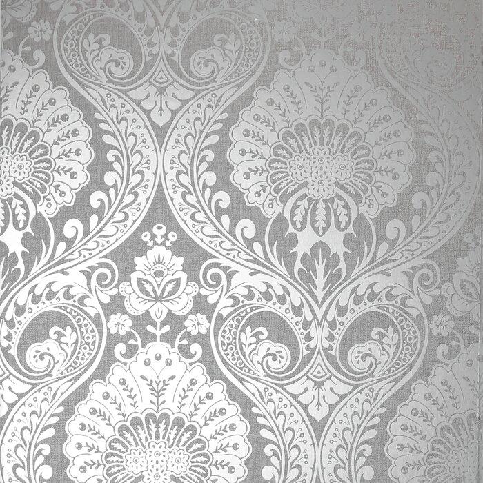 1m X 53cm Shimmer Matte Metallic Finish Wallpaper Roll