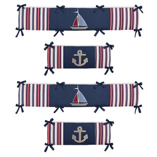 Nautical Nights Crib Bumper By Sweet Jojo Designs