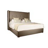 Akain Tufted Upholstered Low Profile Standard Bed by Ebern Designs