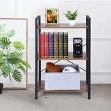 Temme 37.01 H x 23.62 W Metal Etagere Bookcase by 17 Stories