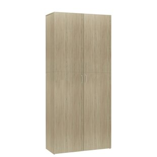 Chipboard 24 Pair Shoe Storage Cabinet By Wade Logan
