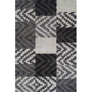 Reviews Rossiter Pewter Geometric Area Rug ByBrayden Studio
