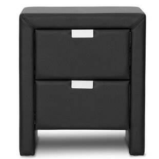 Ginyard 2 Drawer Nightstand