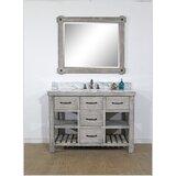 Wigley Solid Fir 49 Single Bathroom Vanity Set by Breakwater Bay