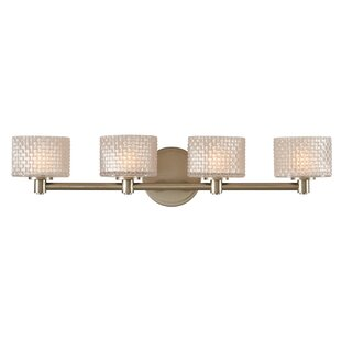 Compare prices Willow 4-Light LED Vanity Light By Kalco