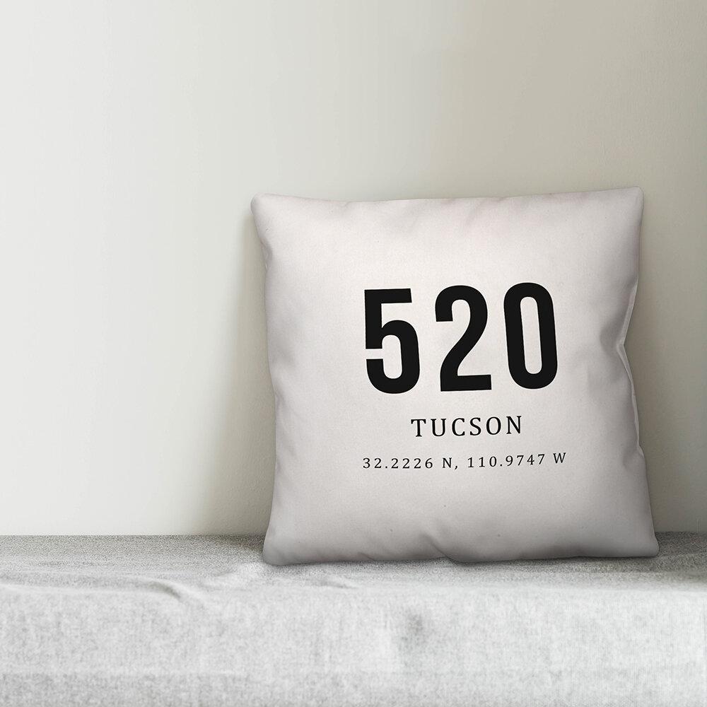 Winston Porter Ridgewood Tucson Coordinates Indoor Outdoor Throw Pillow Wayfair
