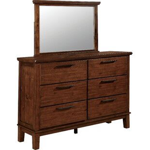 Mcfarren 6 Drawer Dresser with Mirror