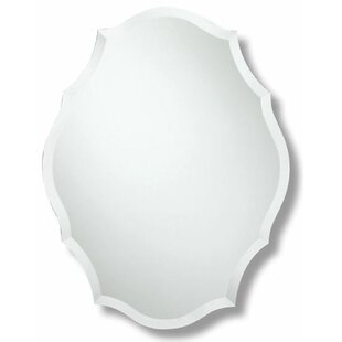 Trend Agora Oblong Scalloped Edge Wall Mirror By Rosdorf Park