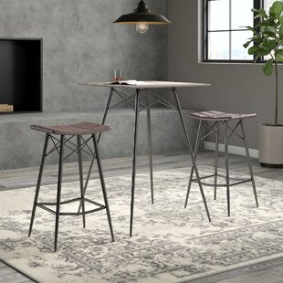 Bowley 3 Piece Dining Set by Trent Austin Design