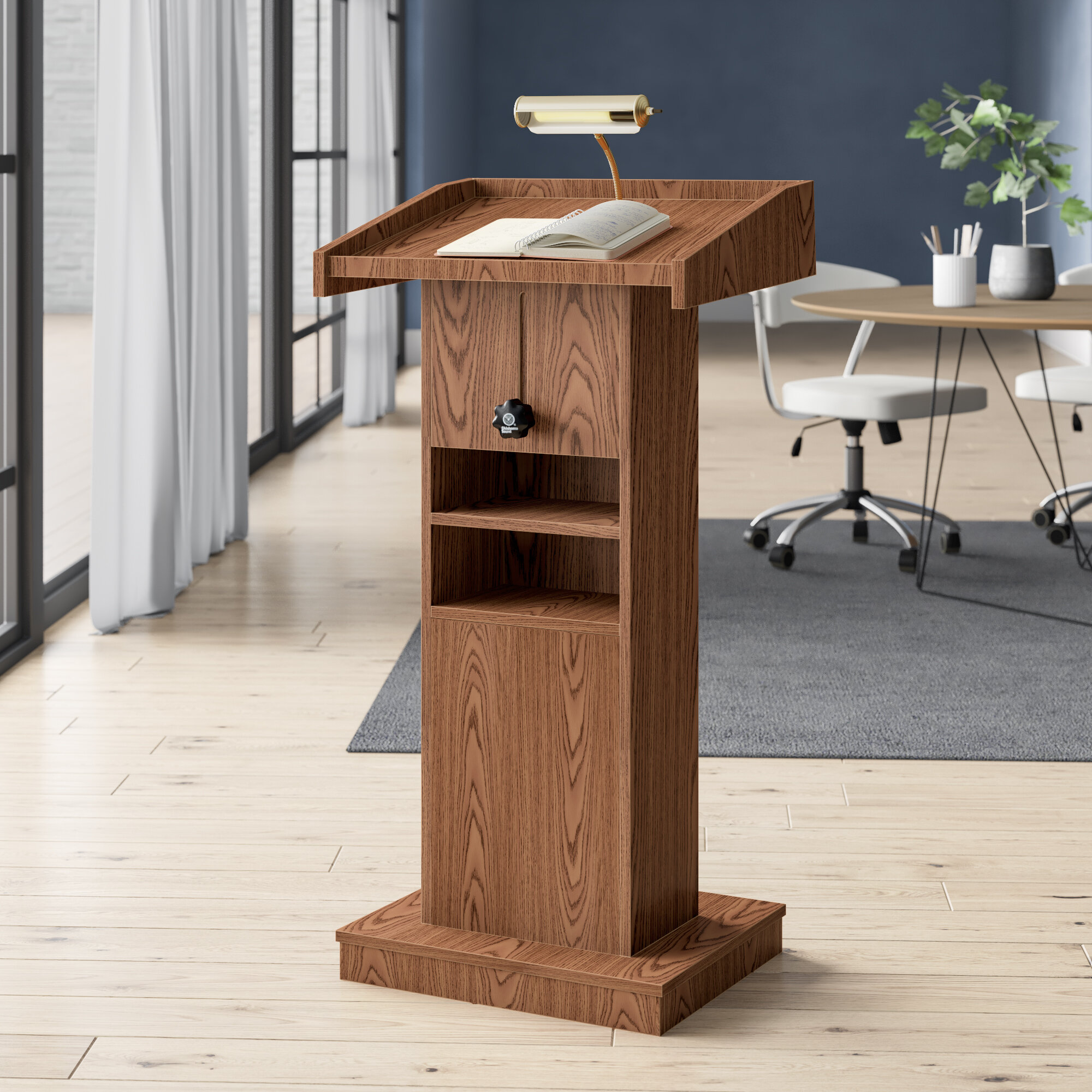 Oklahoma Sound Orator Height Adjusting Full Podium Wayfair