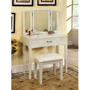 Winston Porter Inglestone Common Vanity Set with Mirror