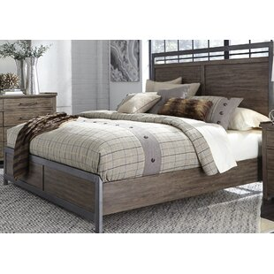 Claybrooks Panel Bed by Gracie..