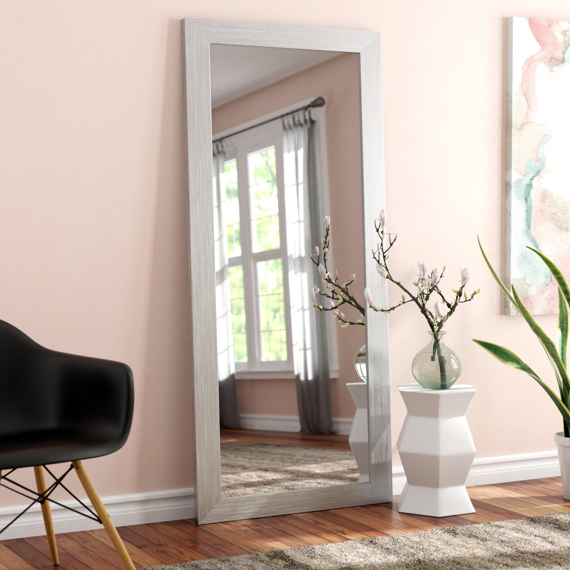 Latitude Run Ayeh Body Floor Modern Contemporary Full Length Mirror Reviews Wayfair