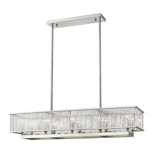 Brayden Studio Cesar 10-Light Kitchen Island Pendant