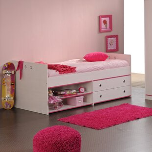 Ginger Twin Platform Bed with Drawer