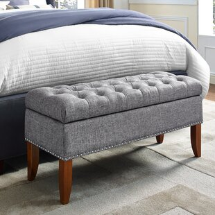 Mortensen Upholstered Storage Bench