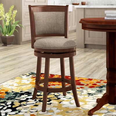 Pleasing Heartwood 24 Swivel Bar Stool Joss Main Gmtry Best Dining Table And Chair Ideas Images Gmtryco