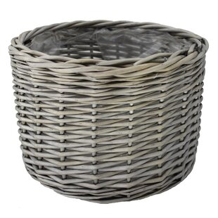 Therese Rattan Cachepot By Brambly Cottage