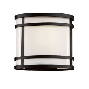 Latitude Run Sandridge 1-Light Outdoor Flush Mount