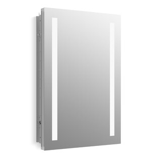 Inexpensive Verdera Lighted Medicine Cabinet, 20 x 30 with Lighting By Kohler