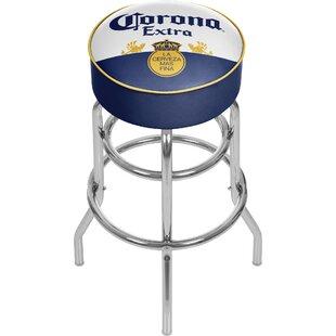 Corona 31 Swivel Bar Stool by Trademark Global Best