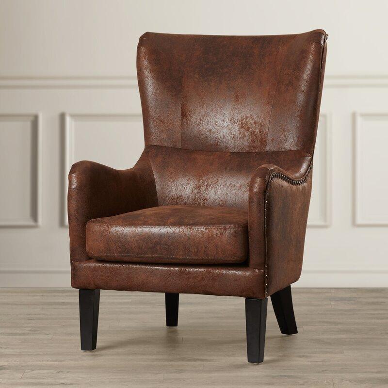 Beau Gordon High Back Wingback Chair