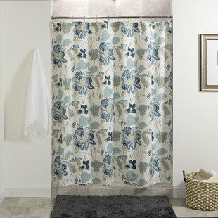 Winston Porter Leeman Floral Shower Curtain