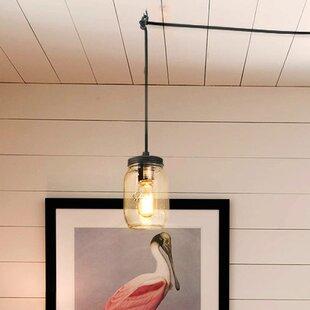 Marina 1-Light Jar Pendant by Gracie Oaks