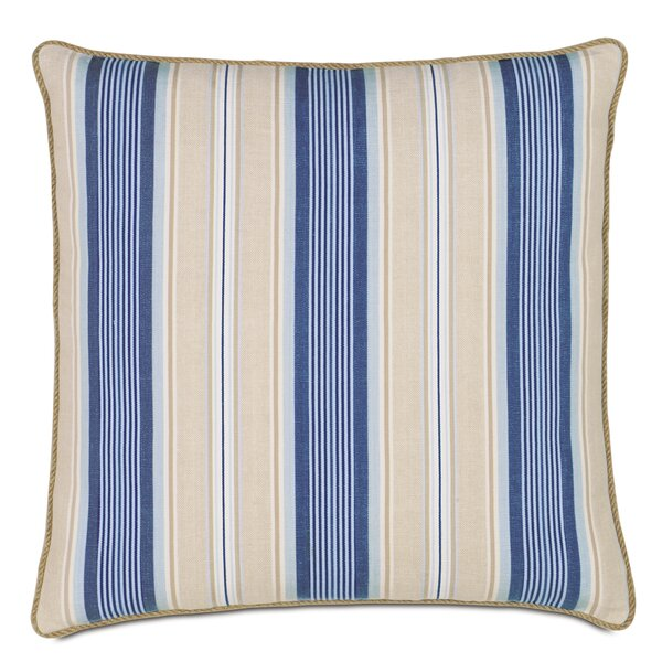 2 Pcs Royal Blue Rectangle Dog Foot Cotton Poplin Pillow Sham Cushion Cover