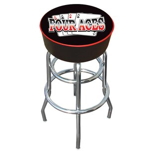 Four Aces 31 Swivel Bar Stool Trademark Global