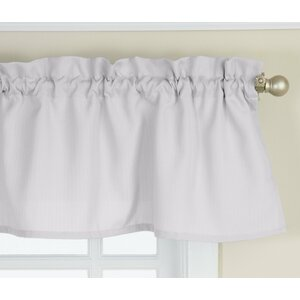 Opaque Ribcord Kitchen Curtain Valance