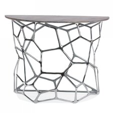 Cell Console Table by Gold Leaf Design Group