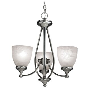 Woodbridge Lighting Kenshaw 3-Light Shaded Chandelier