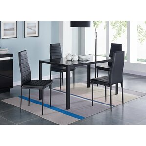 Compact 5 Piece Dining Set by IDS Online Corp