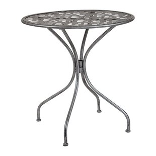 Tanksley Steel Bistro Table