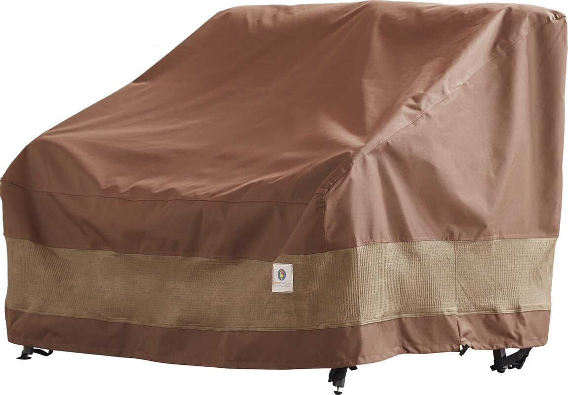 High Quality Patio Loveseat Cover With Buckle Fastener