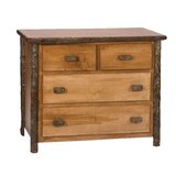 Cleary 4 Drawer Dresser by Loon Peak®