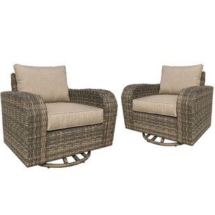 Desalvo Rocking Chair with Cushions (Set of 2) by Highland Dunes