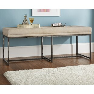 Fadrique Tufted Top Metal Metal Bedroom Bench