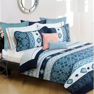 Linhart Pacifica 3 Piece Coverlet Set