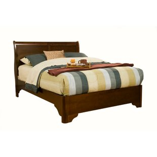 Winburn Rubberwood Sleigh Bed
